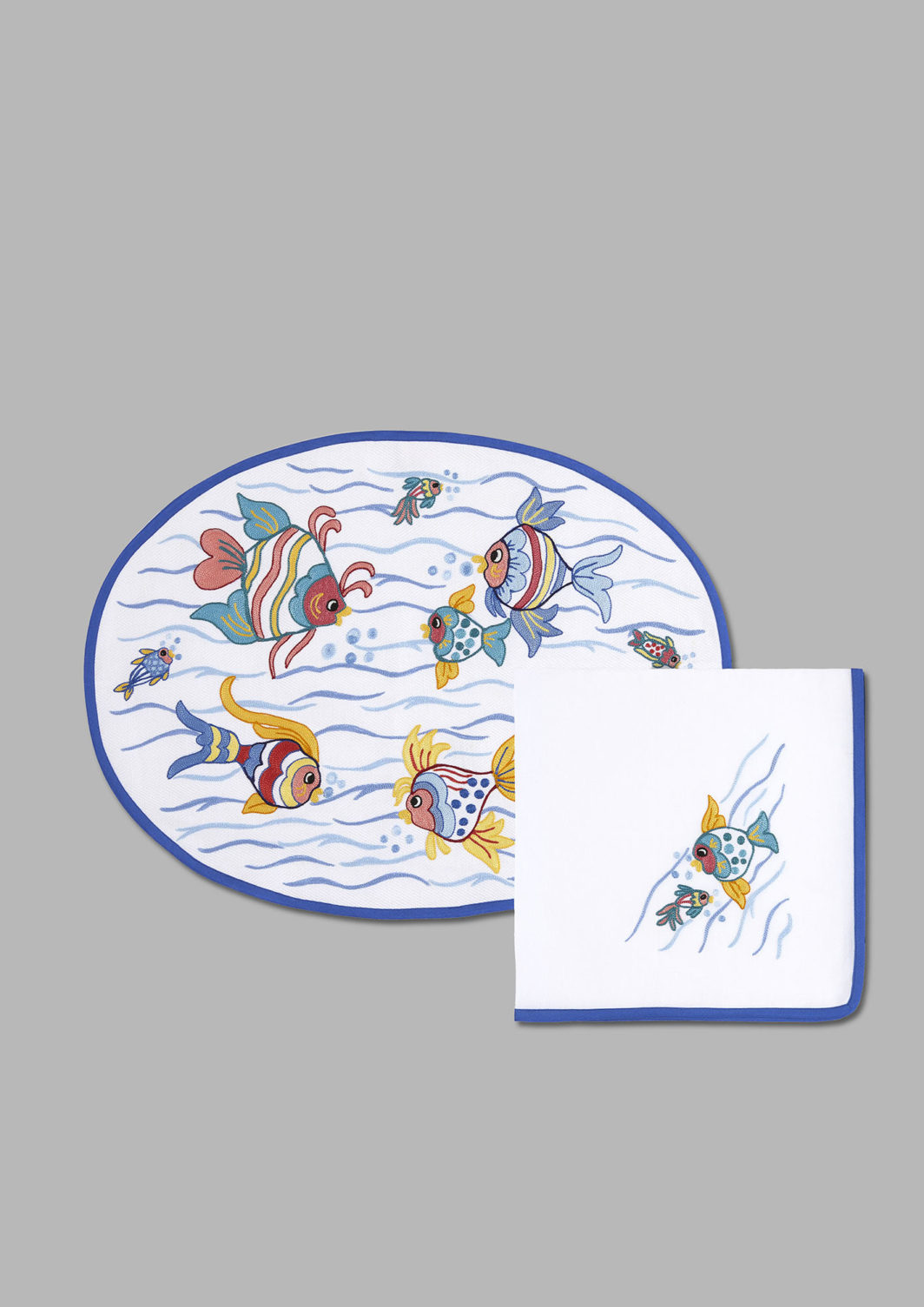 TROPICAL FISH PLACEMAT SET OF 2
