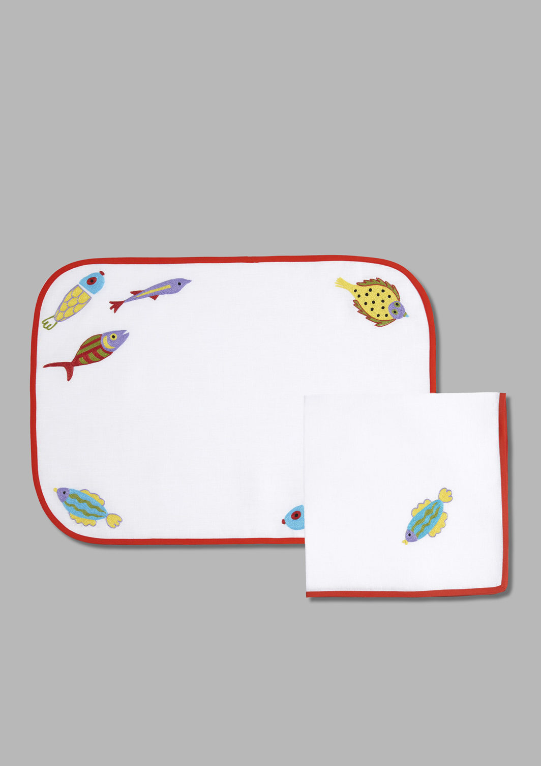 MENDINI'S FISH PLACEMAT SET OF 2