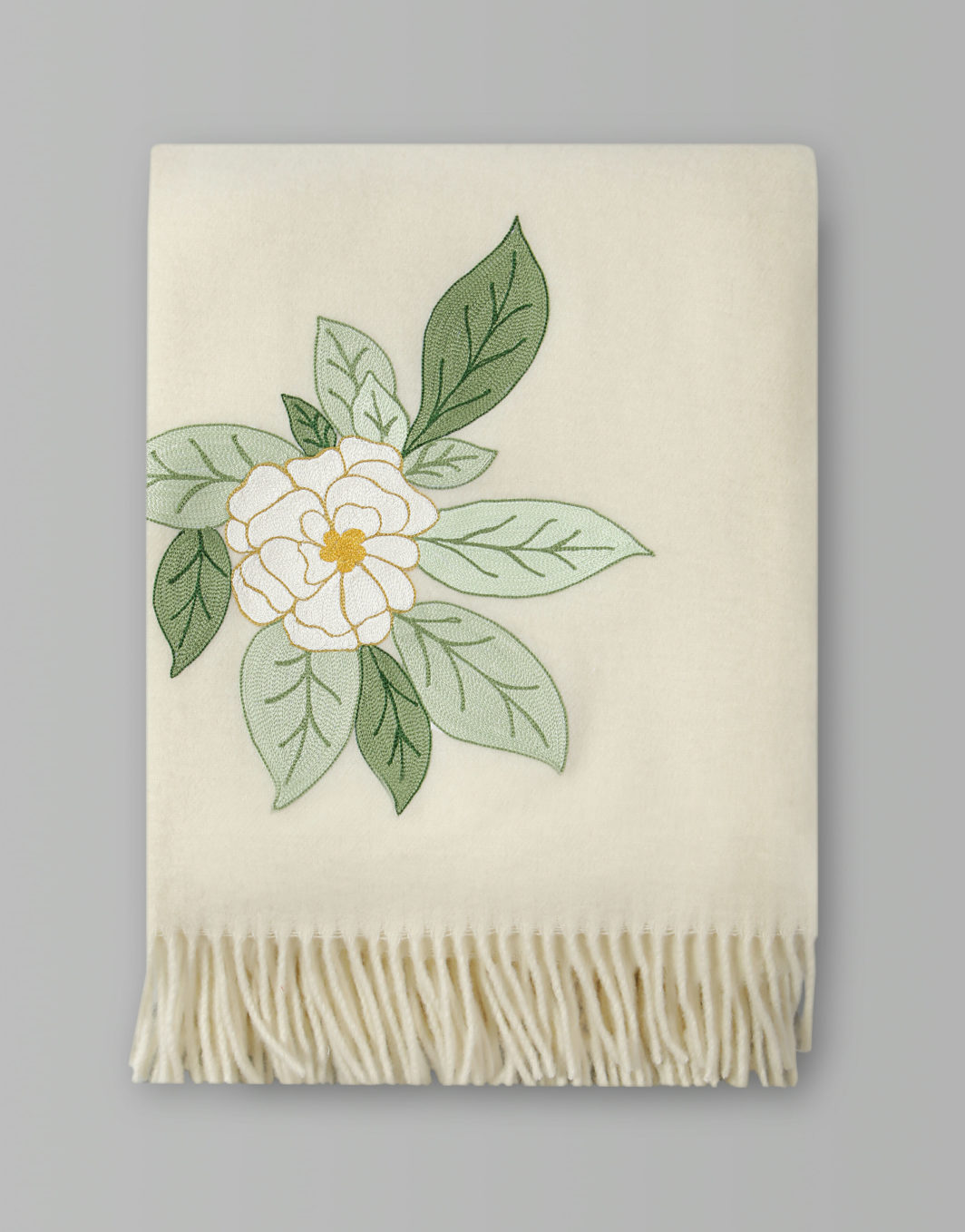CAMELLIA THROW BLANKET