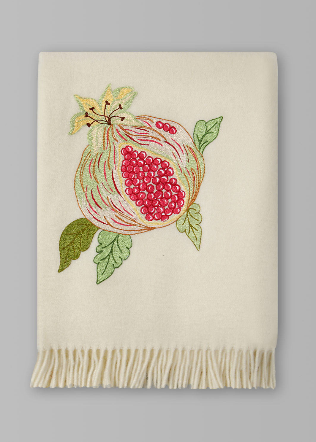 POMEGRANATE THROW BLANKET