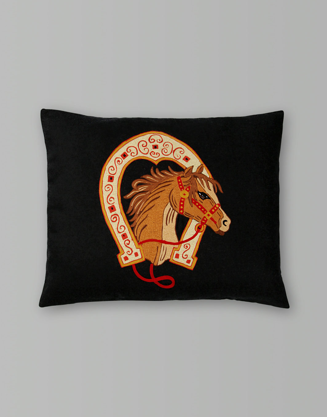 RACE HORSE CUSHION