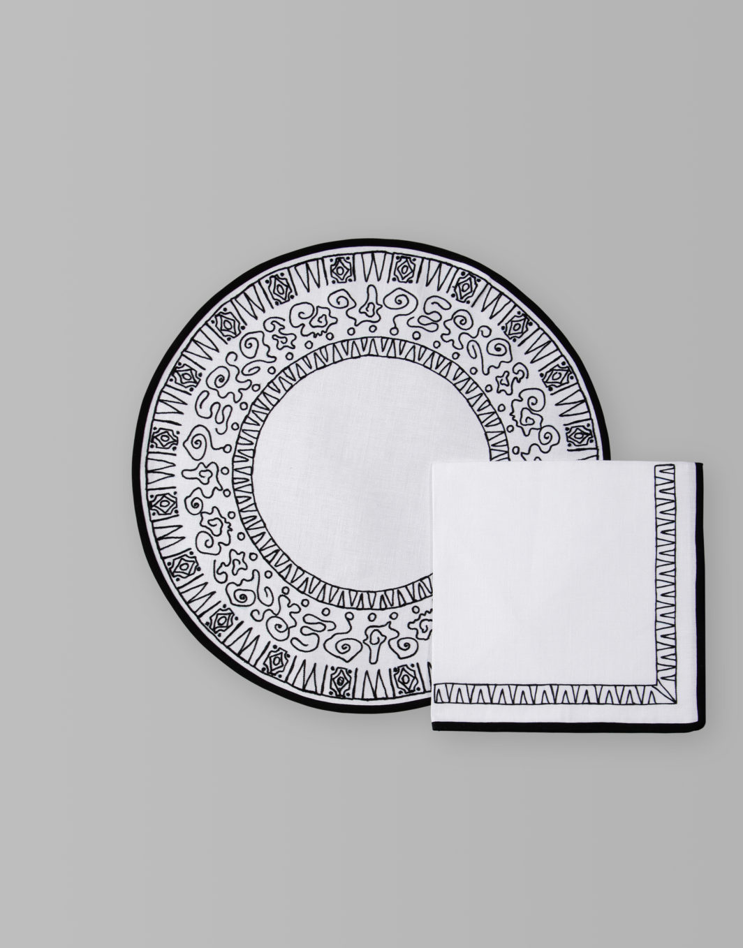 AZTECO PLACEMAT SET OF 2