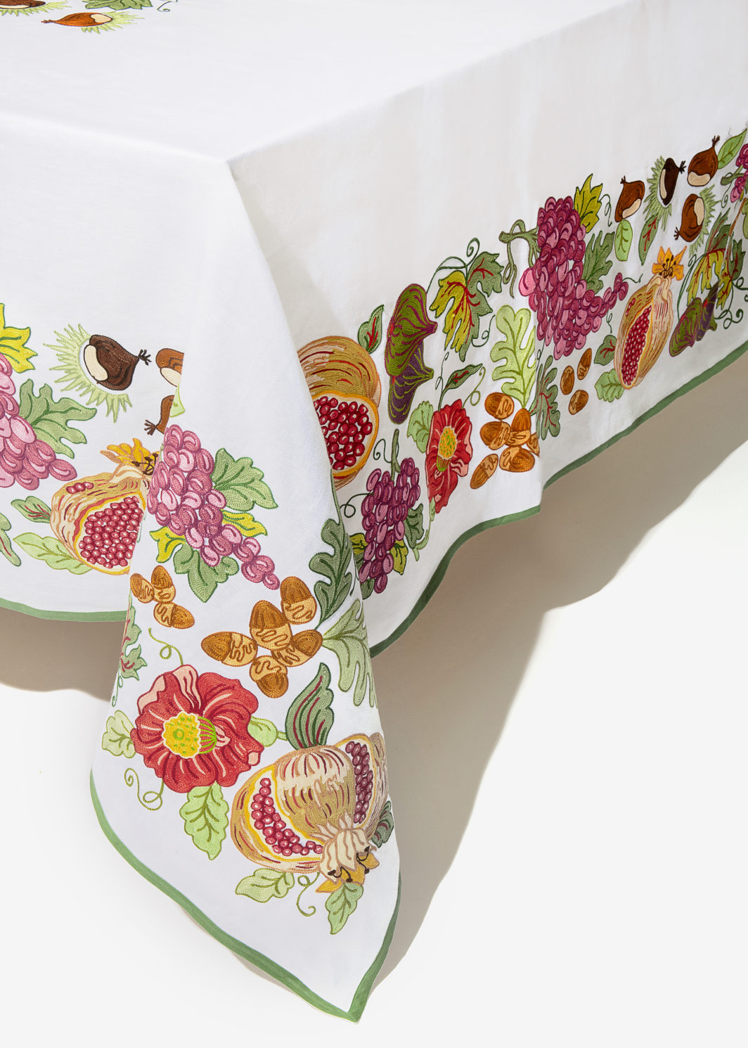 AUTUMNAL FRUIT TABLECLOTH SET