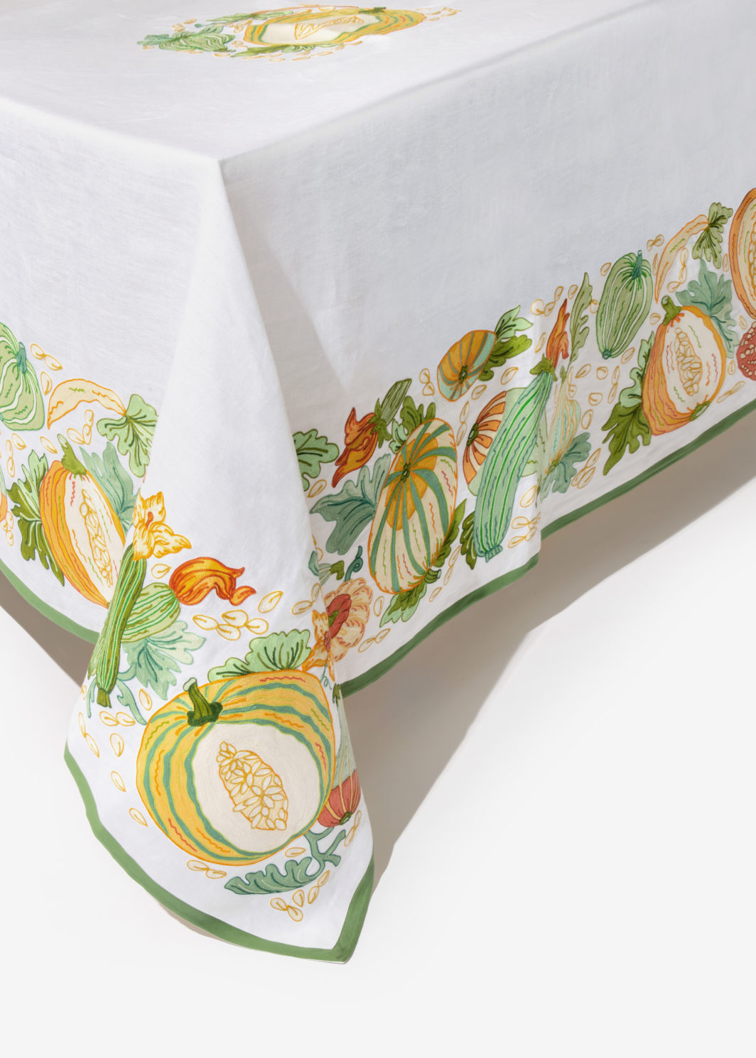 PUMPKINS TABLECLOTH SET