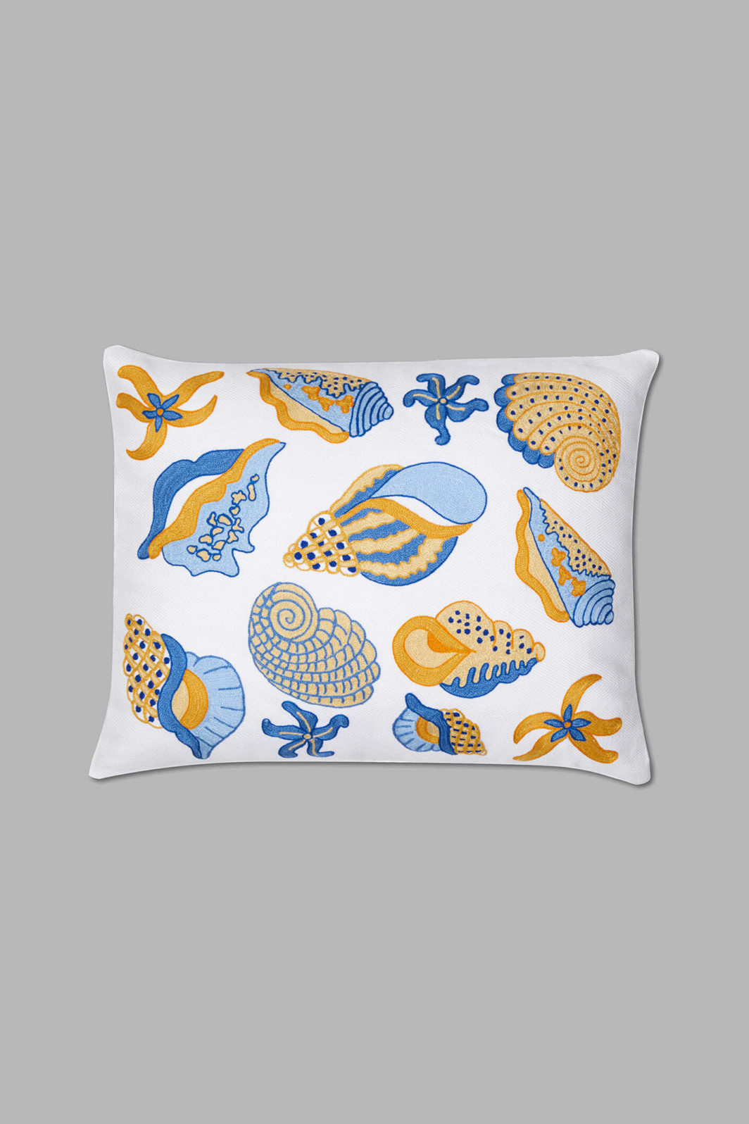 BLUE SHELLS CUSHION