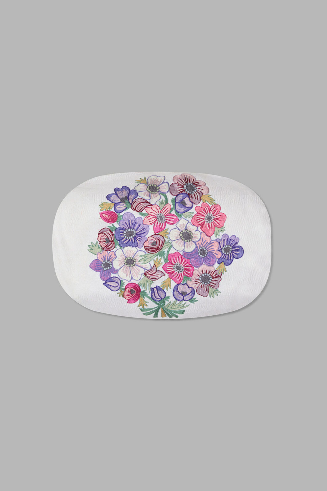 PANSY OVAL CUSHION