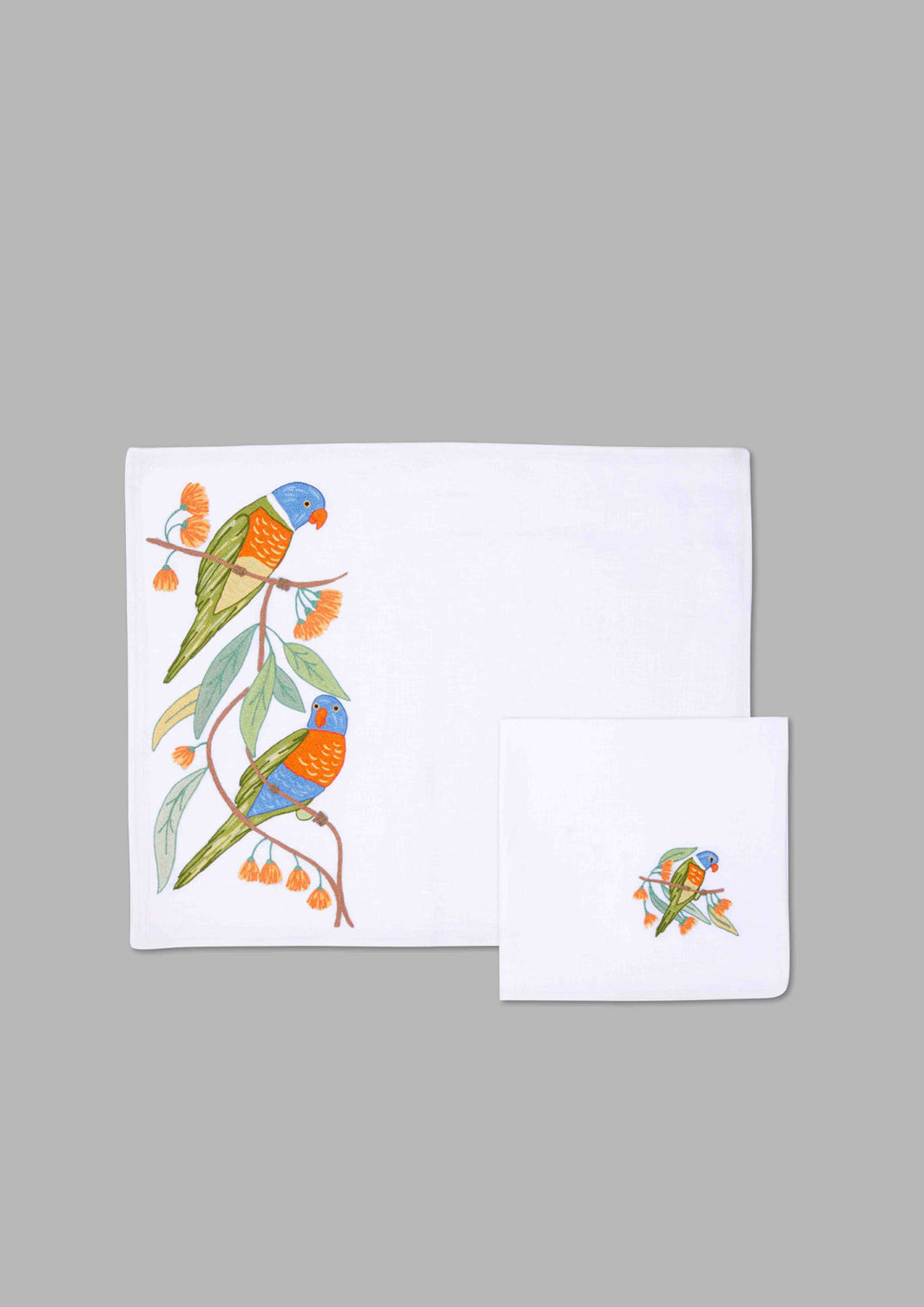 BIRDS PLACEMAT SET OF 2