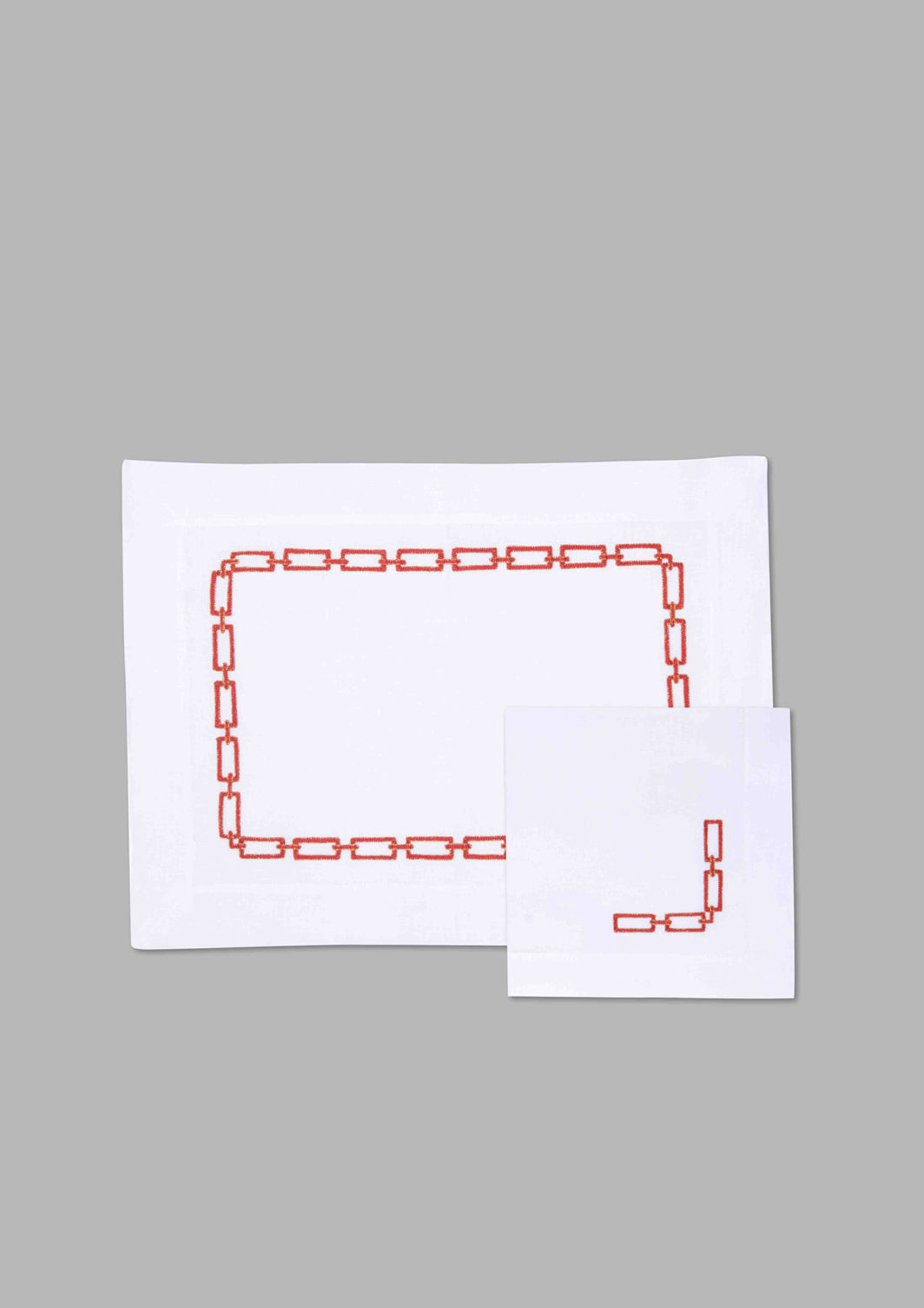 CHAIN PLACEMAT SET OF 2