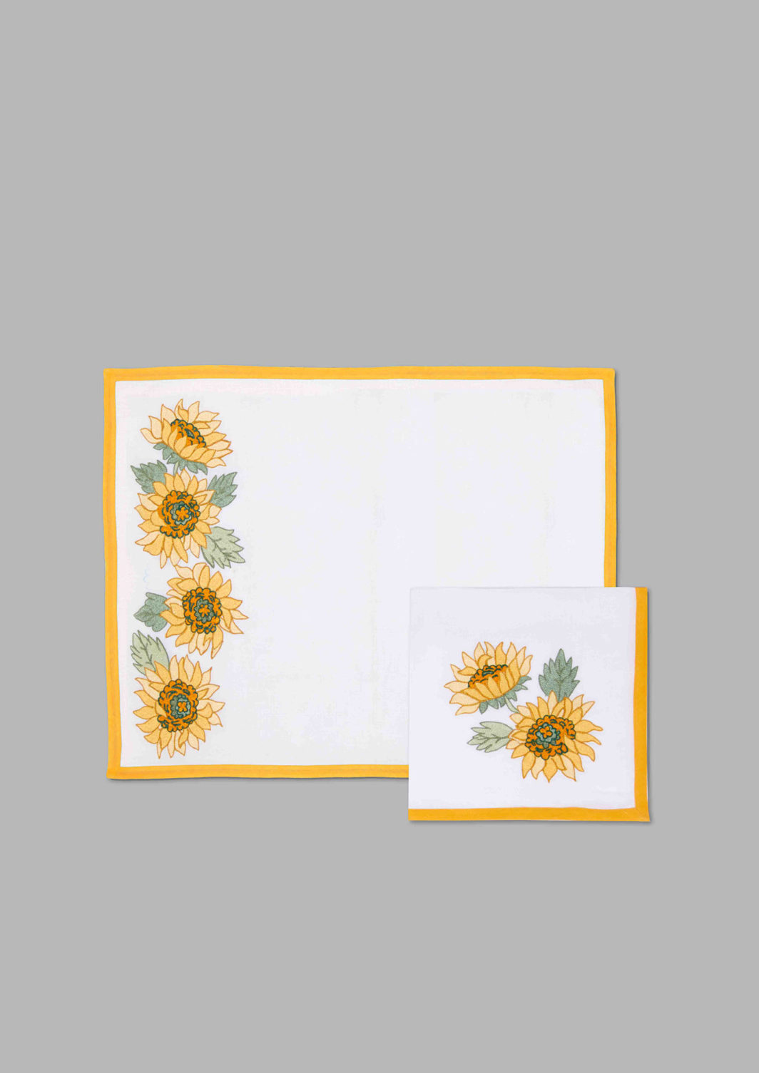 SUNFLOWER PLACEMAT SET OF 2