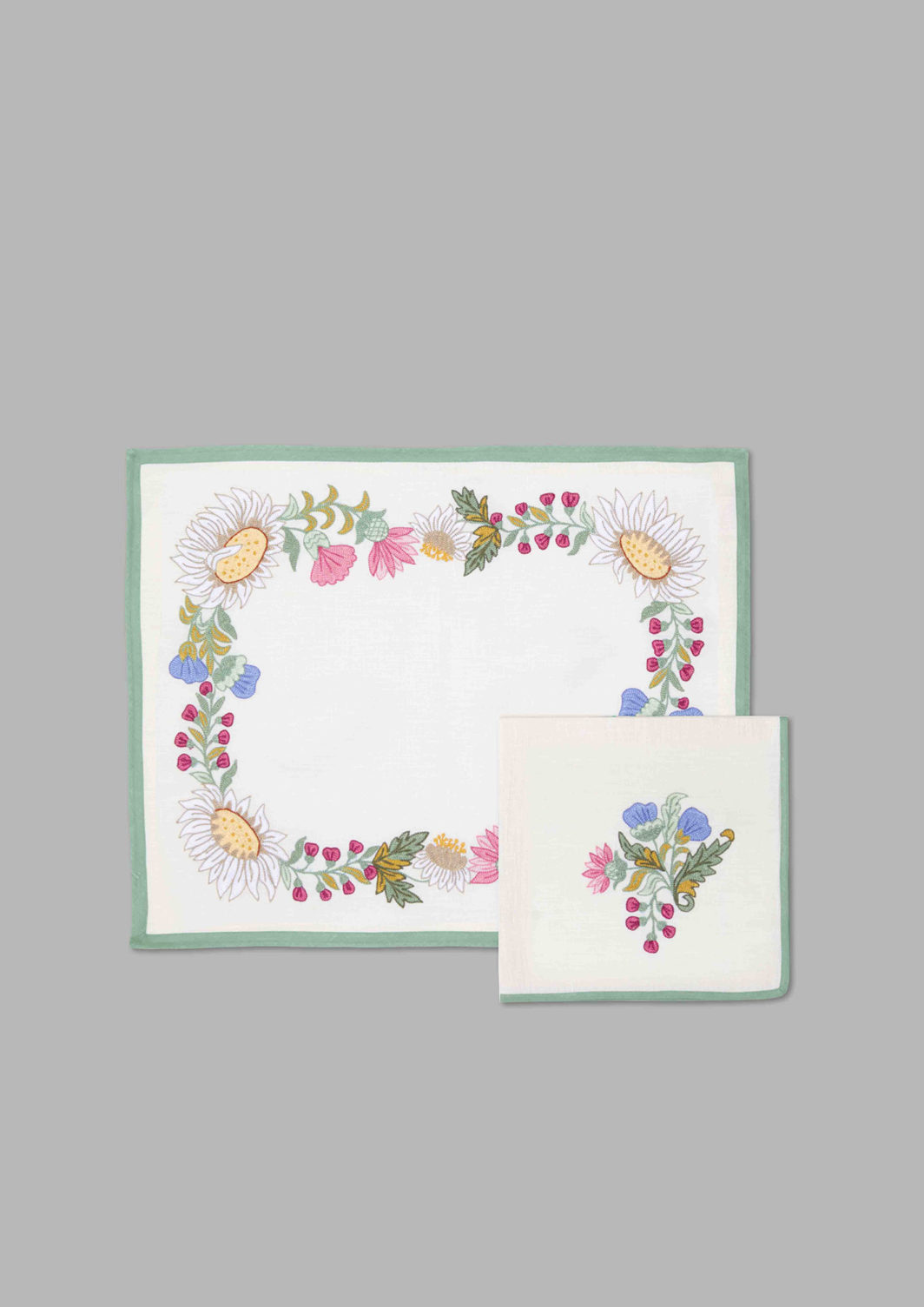 THISTLES PLACEMAT SET OF 2