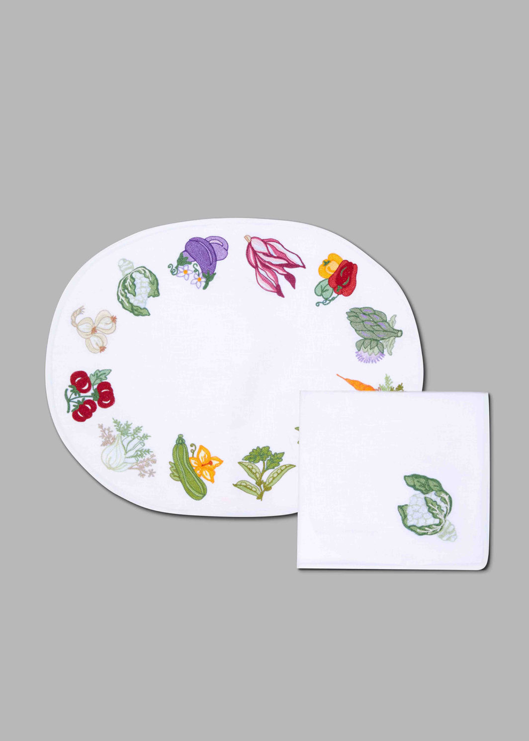 VEGETABLES PLACEMAT SET OF 2