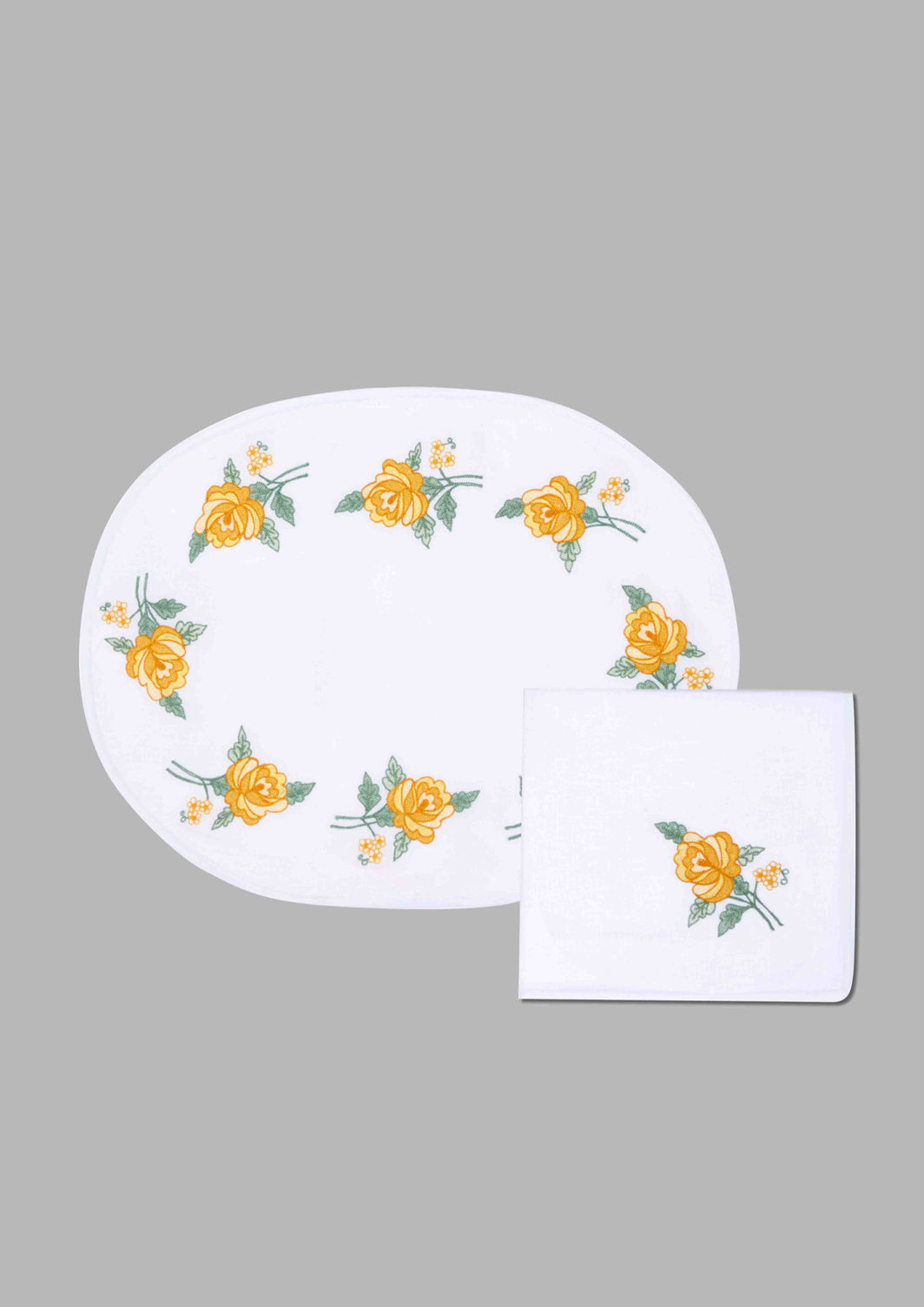 SMALL ROSES PLACEMAT SET OF 2