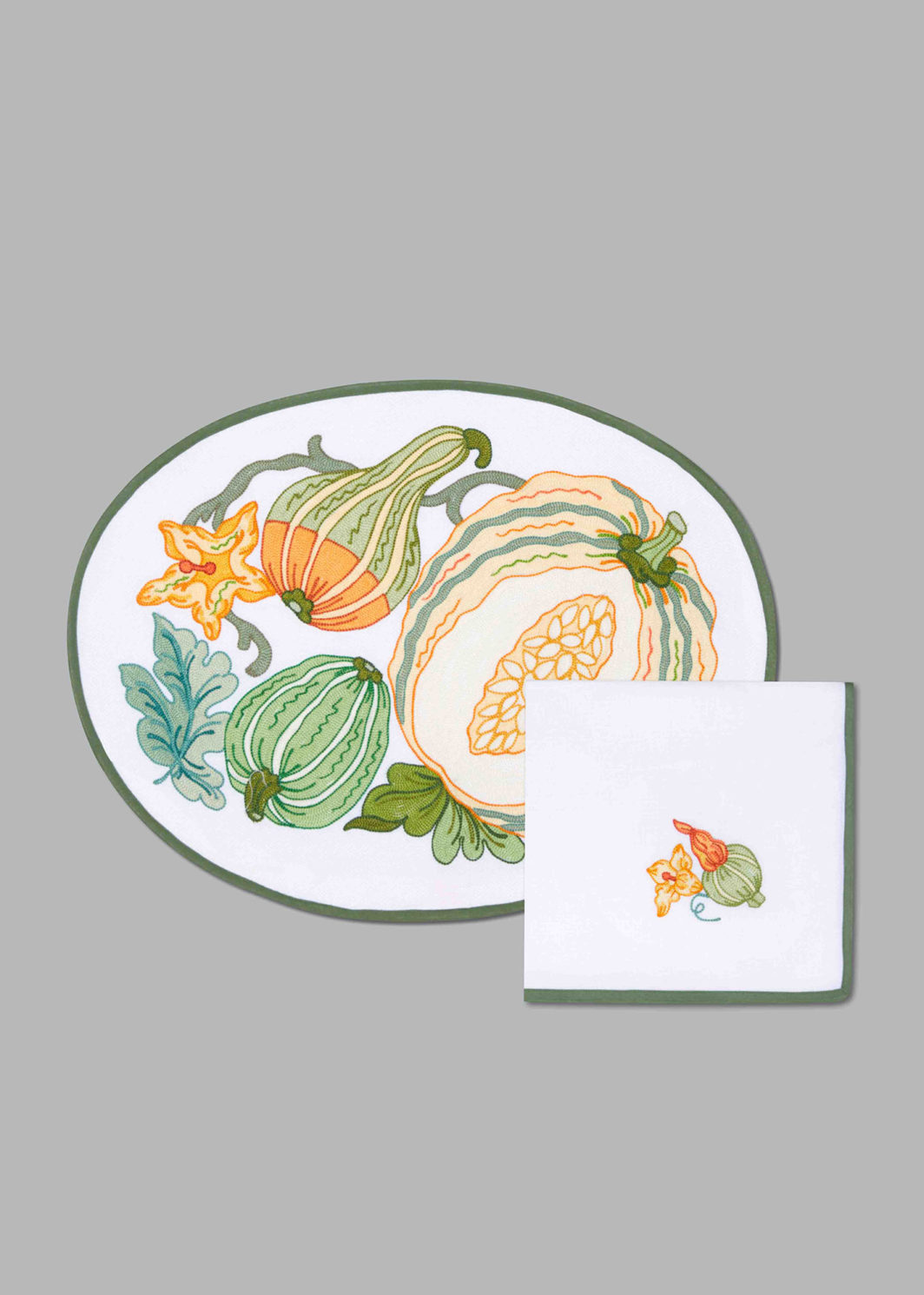 PUMPKINS PLACEMAT SET OF 2
