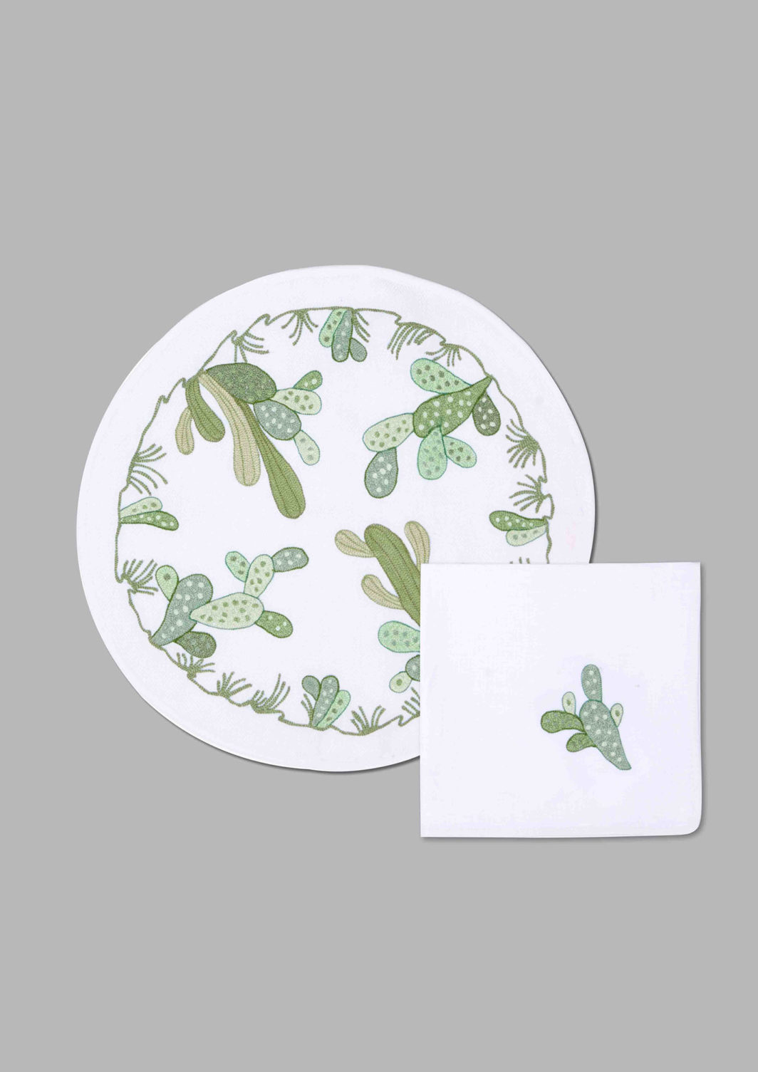 CACTUS PLACEMAT SET OF 2