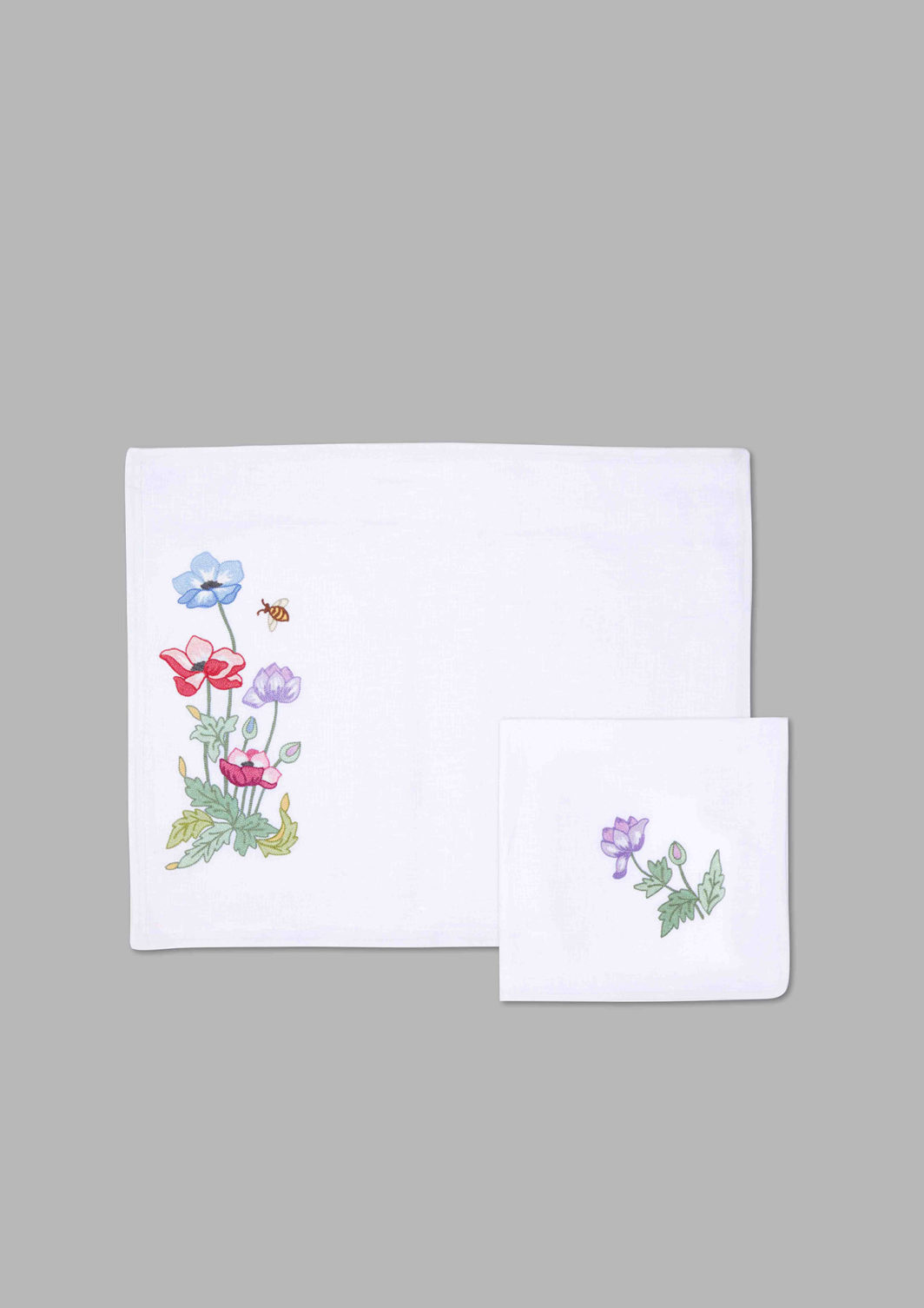 SPRING FLOWERS PLACEMAT SET OF 2