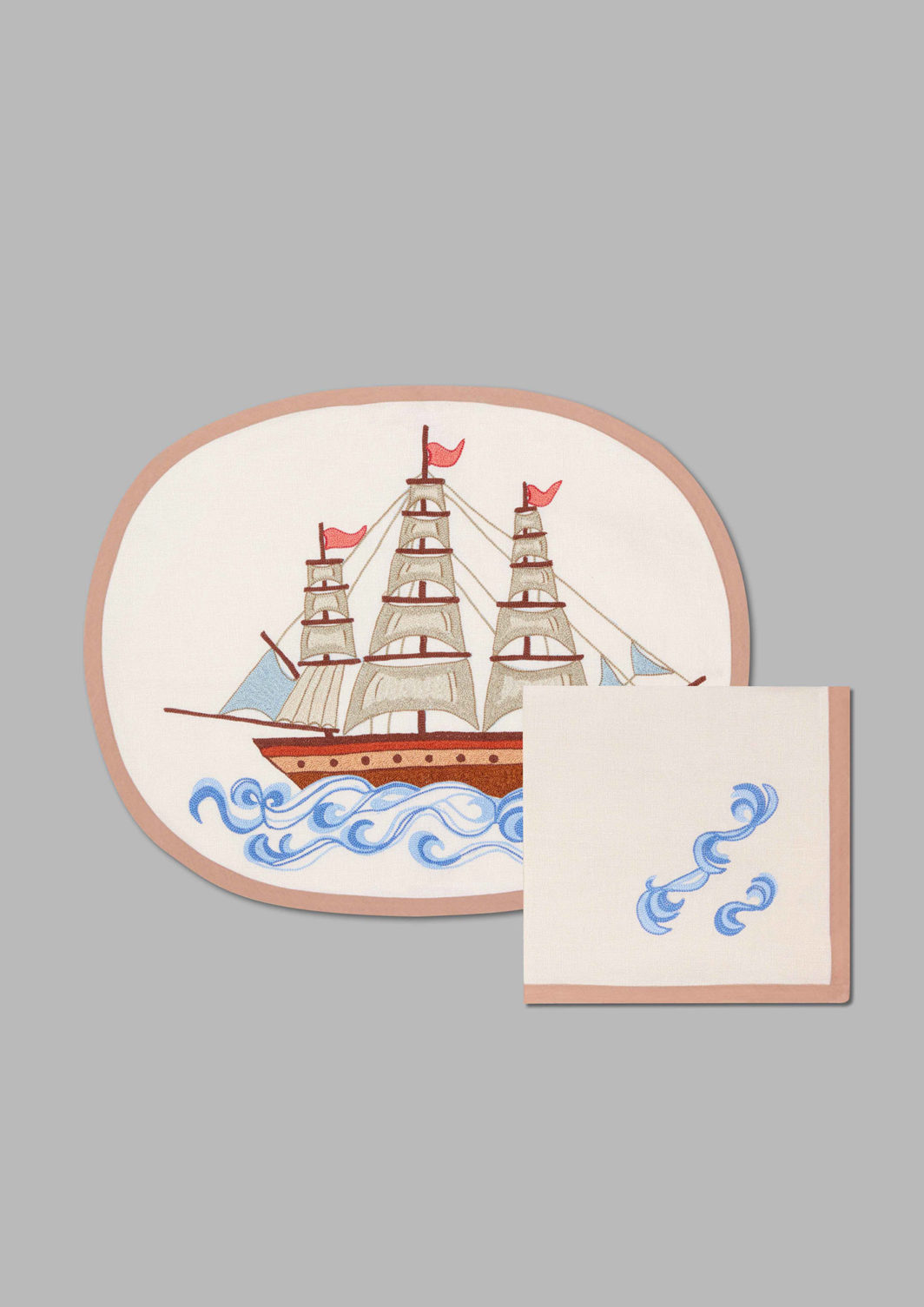 GALLEON PLACEMAT SET OF 2