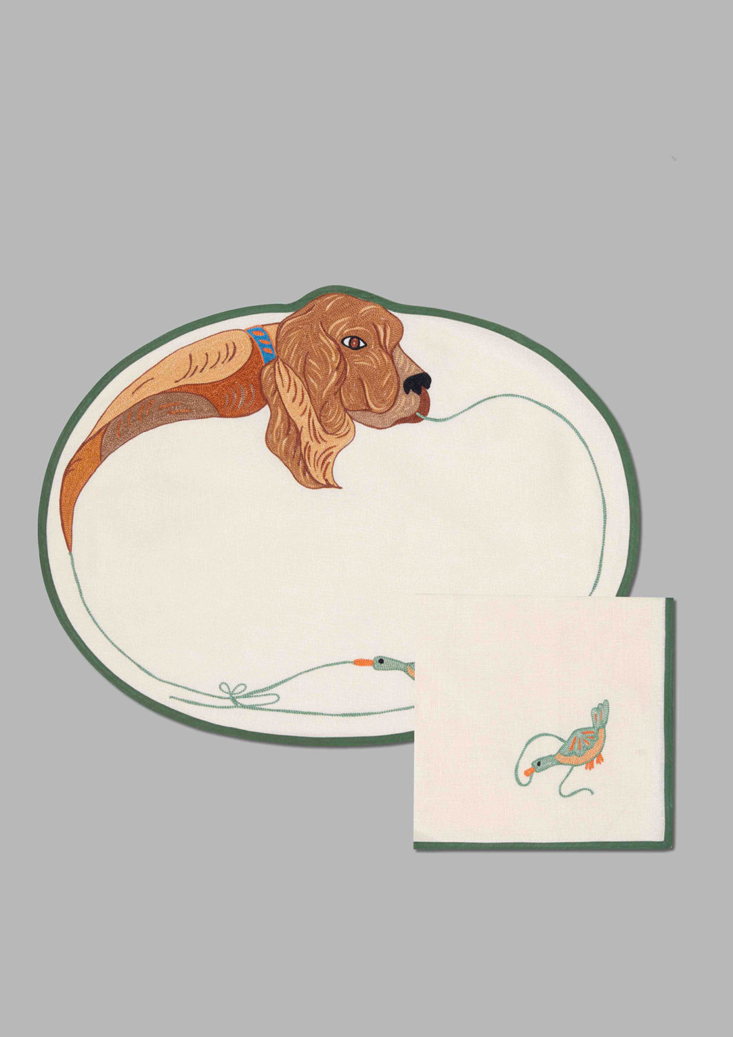 DOGS PLACEMAT SET OF 2