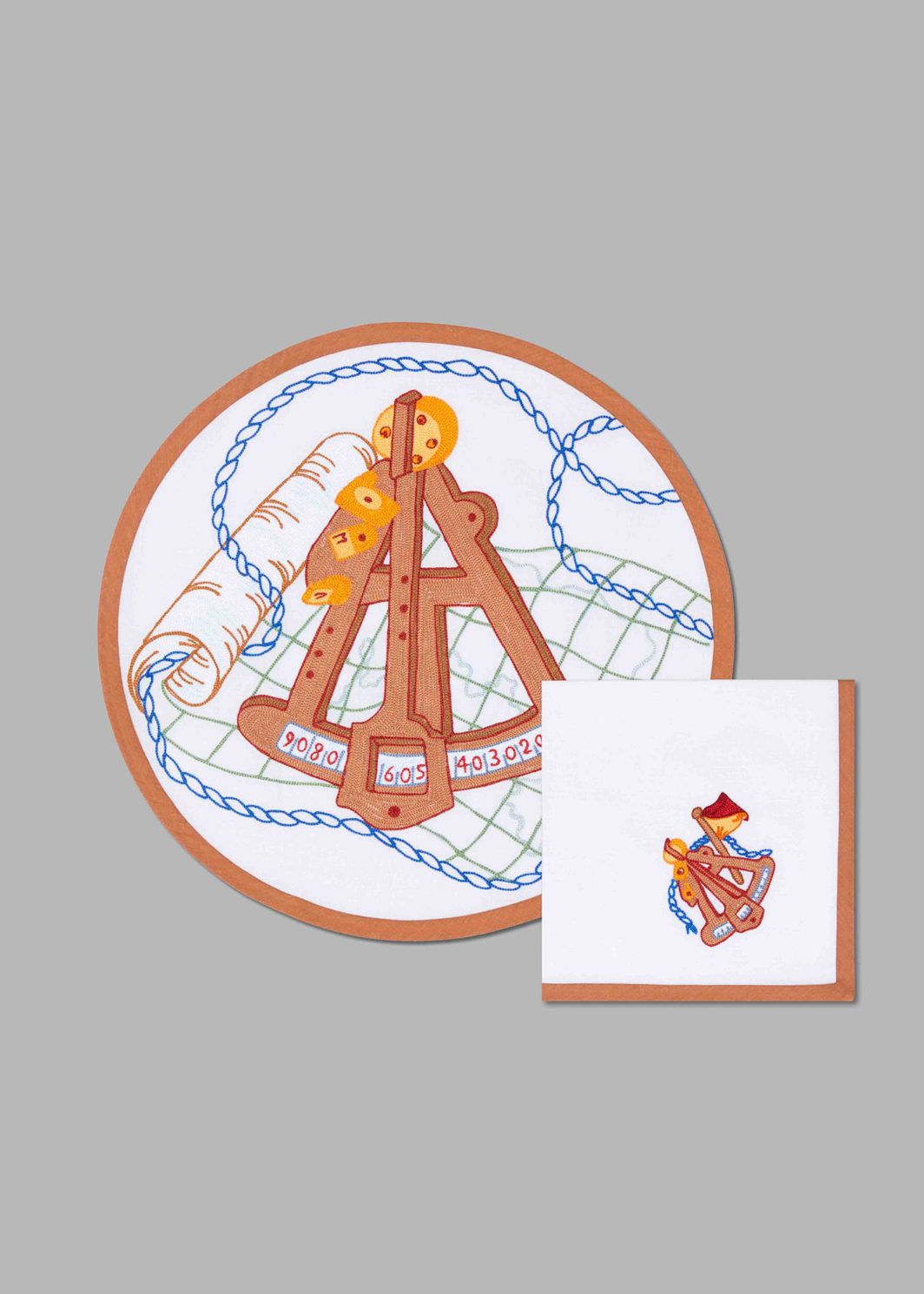 NAVAL TOOLS PLACEMAT SET OF 2