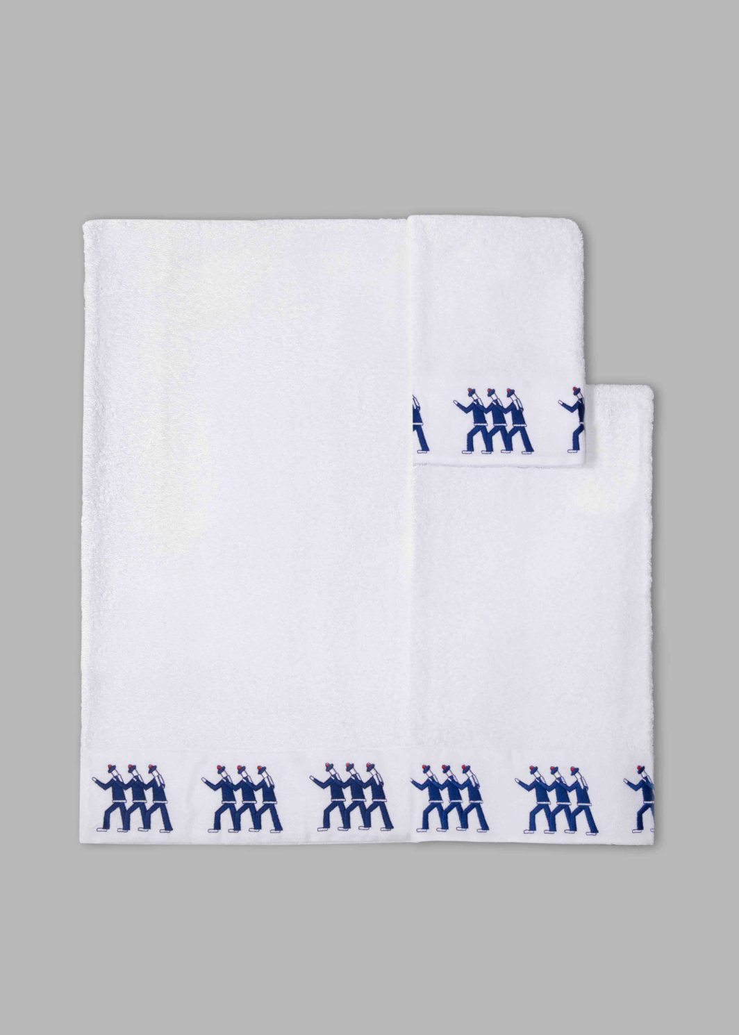 SAILORS BATH TOWELS SET