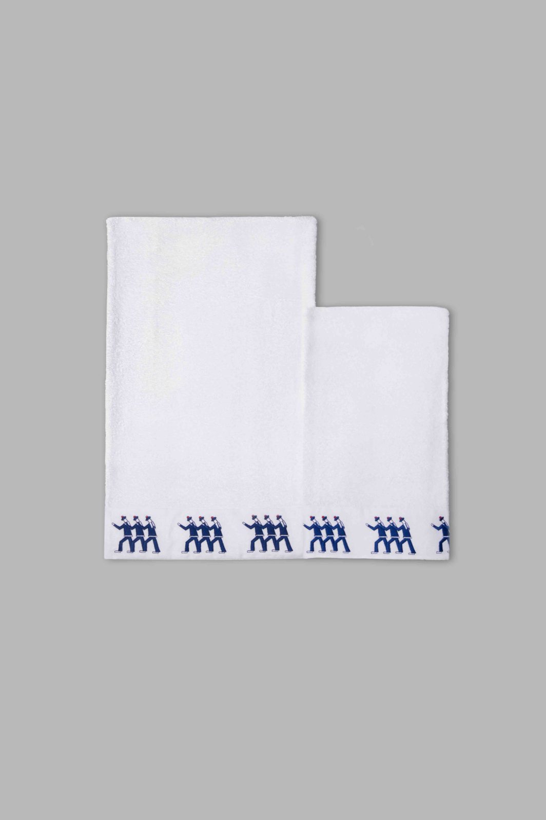 SAILORS BATH TOWELS SET - 2PCS