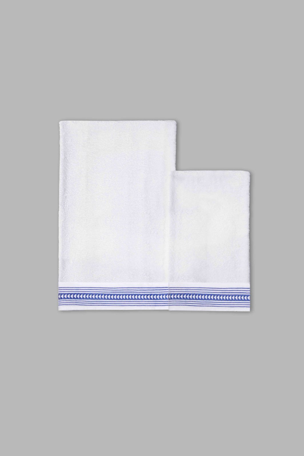ARROWS BATH TOWELS SET - 2PCS
